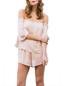 Alusha Off The Shoulder Playsuit