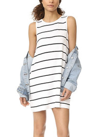 Avigail Striped A-Line Dress