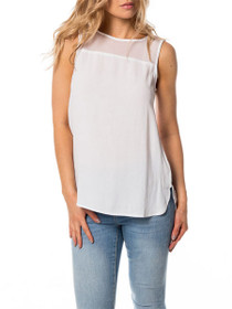 Wonder Sleeveless Mesh Tank Top
