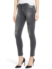 Farrah Skinny Ankle Distressed Denim in 8 Years Eroded