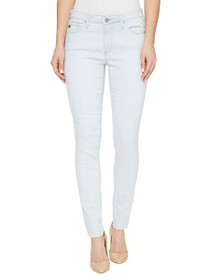 Middi Raw Edge Ankle Skinny Denim in Idyll