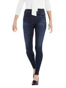 Mila High Rise Skinny Denim in 3 Years Rendezvous