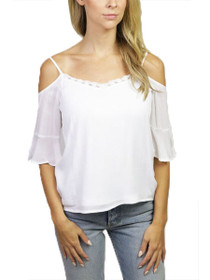 Alberte Cold Shoulder Top