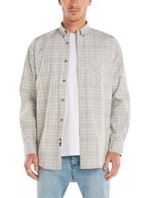 Flanno Rugger Long Sleeve Plaid Shirt