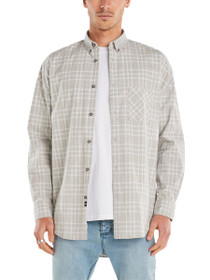 Flanno Rugger Long Sleeve Plaid Shirt
