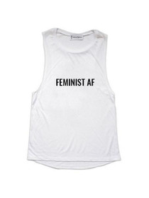 Feminist AF Graphic Muscle Tank