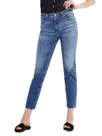 Isabelle High Rise Crop Denim in 14 Years Daring
