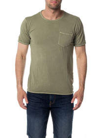 Steen O-Neck Pocket Short Sleeve Tee