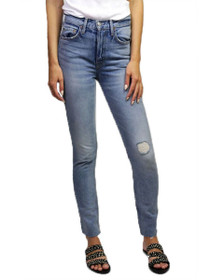 Karolina High Rise Skinny Denim in Uptown