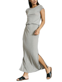 Lua Cap Sleeve Maxi Ankle Dress