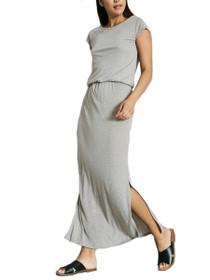 Lua Cap Sleeve Maxi Ankle Dress