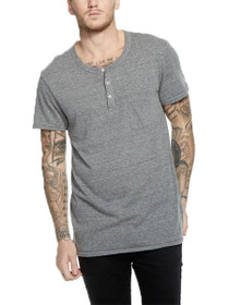 Triblend Short Sleeve Pocket Henley