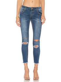Freebirds II High Waisted Denim in Bonnie Blue
