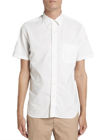 Quebec Short Sleeve Button Down Shirt