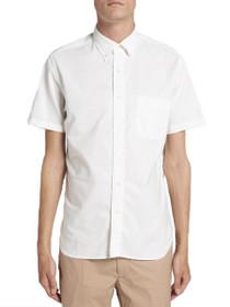 Quebec Short Sleeve Button Down Shirt