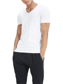 Basic V-Neck Short Sleeve Tee