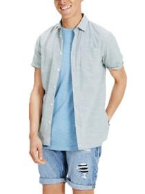 Dexter Short Sleeve Button Down Shirt