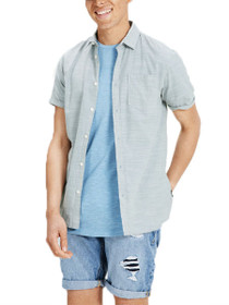 Dexter Short Sleeve Button Down Shirt