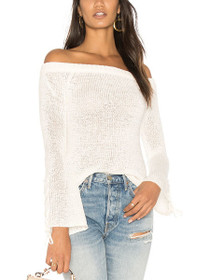 Antoinette Off Shoulder Knit Sweater
