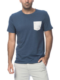 Boats Short Sleeve Crew Neck Pocket Tee