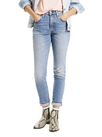 501 Stretch Skinny Denim in Post Modern Blues
