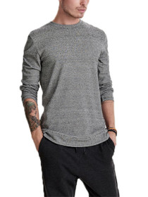 Arne Curved Crew Neck Sweater