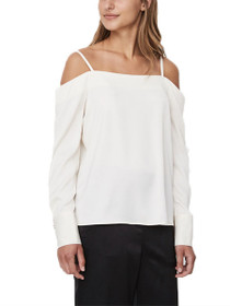 Ayla Cold Shoulder Long Sleeve Top