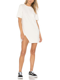 Split Front Pocket Tee Dress