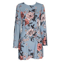 New Romantics Flare Sleeve Floral Dress