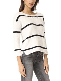 Karin Stripe Knit Pullover Sweater
