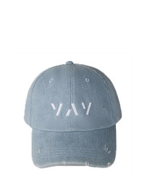 Distressed Yay Adjustable Baseball Hat