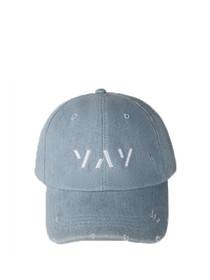 Distressed Yay Adjustable Baseball Hat