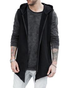 Hooded Zip Vest