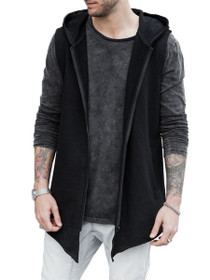 Hooded Zip Vest