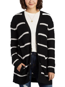 Tevin Stripe Knit Cardigan