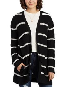 Tevin Stripe Knit Cardigan