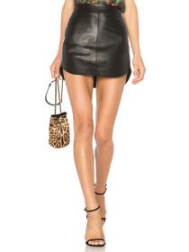 Conrad Leather Mini Skirt
