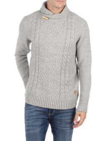 Buffalo Cable Knit Pullover