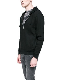 Burlington Henley Hooded Sweatshirt
