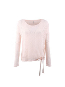 Rachel Long Sleeve Tie Knit Top