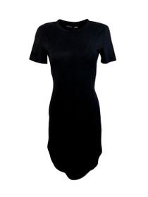 Joplin Short Sleeve Suede Dress