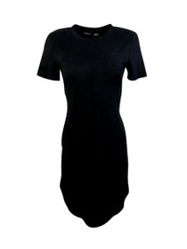 Joplin Short Sleeve Suede Dress