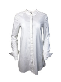 Another Time Button Down Shirt Dress