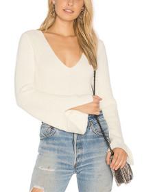Mona Split Sleeve Knit Sweater