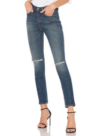 Karolina High Rise Skinny Denim in Jovi
