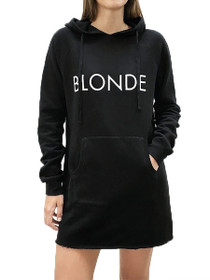 Blonde Middle Sister Hoodie Dress