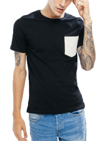 Haris Short Sleeve Fitted Pocket Tee