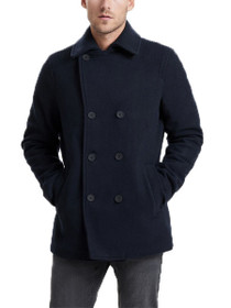 Edgar Button Down Peacoat