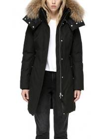 Kerry Fur Trimmed Hooded Parka