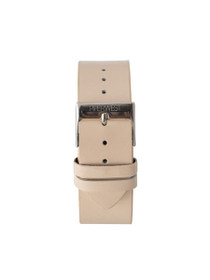 Leather Strap in Blush/Silver